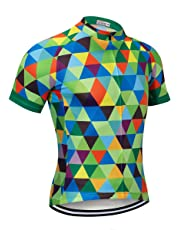 NASHRIO Men s Cycling Jersey Short Sleeve Road Bike Biking Shirt Tops  Bicycle Clothes - Breathable and 1debd16d0