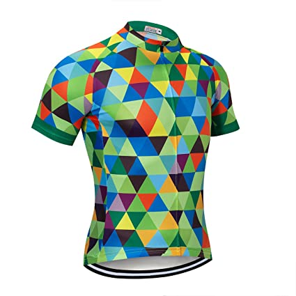 f8422487b Amazon.com   NASHRIO Men s Cycling Jersey Short Sleeve Road Bike ...