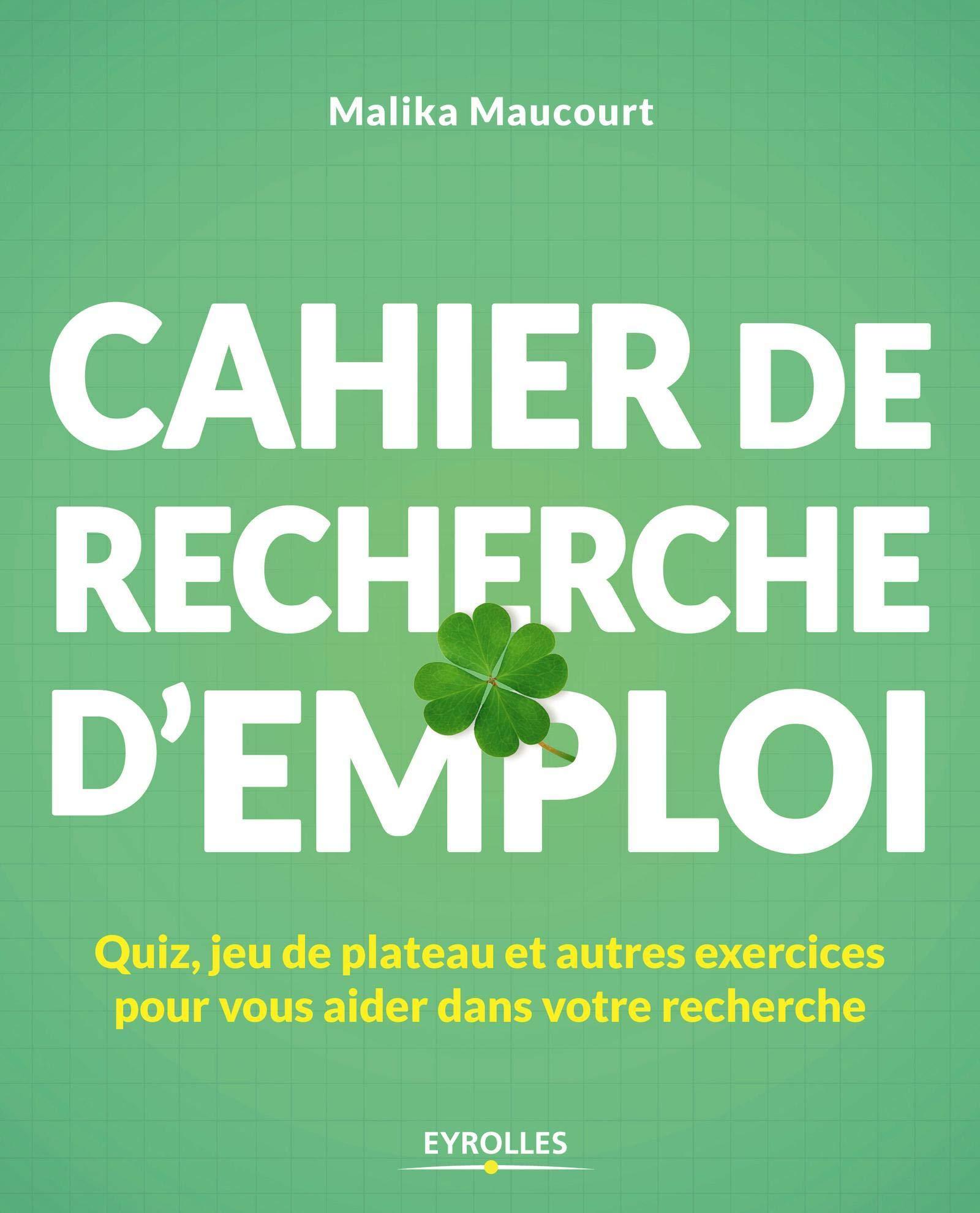 Amazon Fr Cahier De Recherche D Emploi Quiz Jeu De Plateau Et