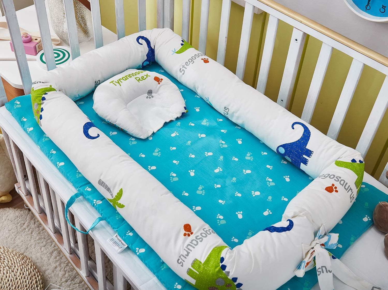 Nid pour nouveau-n/é nourrisson r/éducteur Lit B/éb/é rose TEALP Reducteur de lit Bebe Cocon baby nest pour b/éb/é couffin de voyage portable