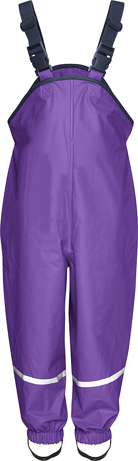 Playshoes Girl's Rain Dungarees Textile Lining Trousers 405514