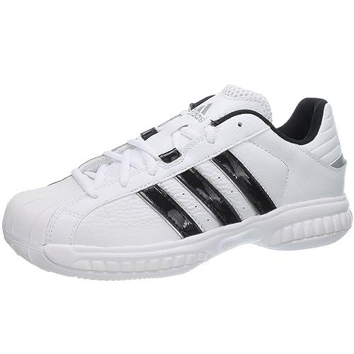 size 40 086e0 ba257 adidas Superstar 2G Speed - Zapatillas de Piel para Hombre, Color Blanco,  Talla 48  Amazon.es  Zapatos y complementos