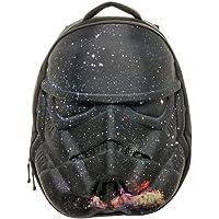 Star Wars Men's Stormtrooper Galaxy Helmet 3D Molded Backpack