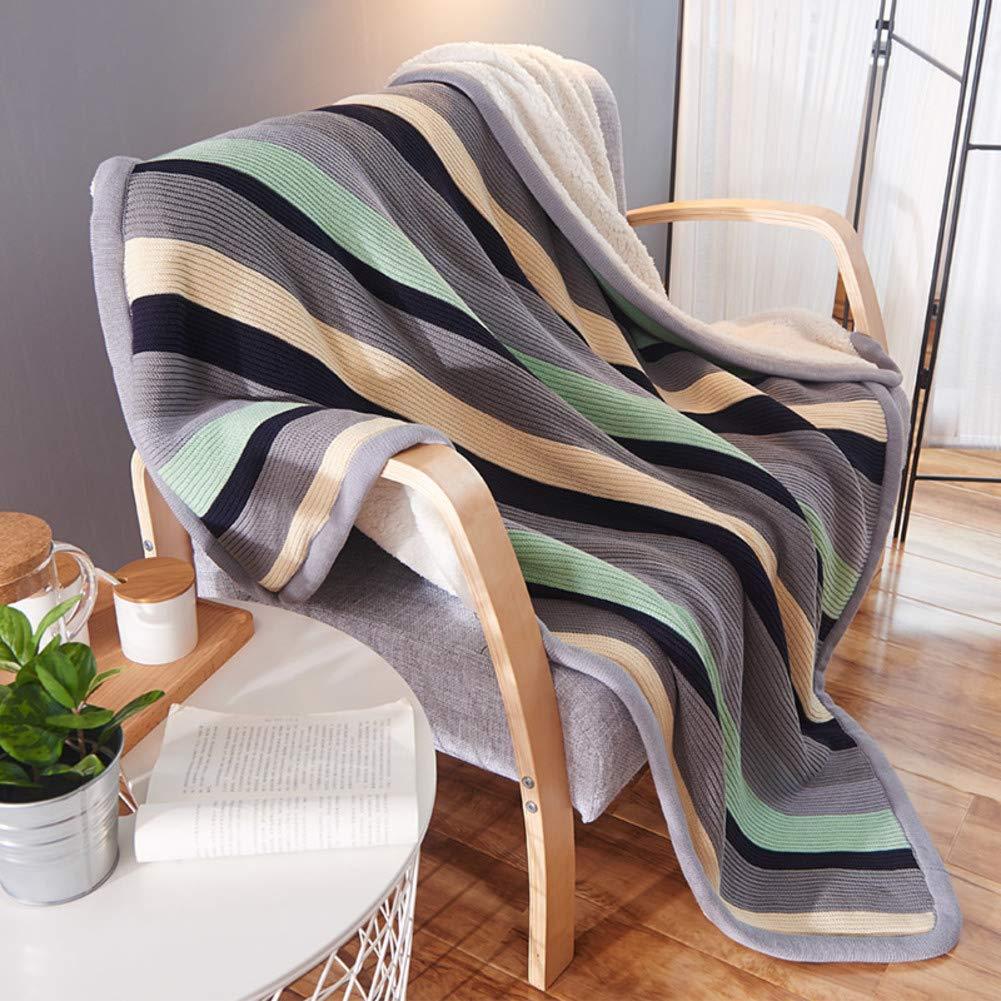 冬 厚い 暖かい 毛布, 二重層 シェルパ 子羊 スロー 1 ソファ レジャー ウールの毛布 フランネル毛布-A 150x200cm B07JNSKBGB A 150x200cm