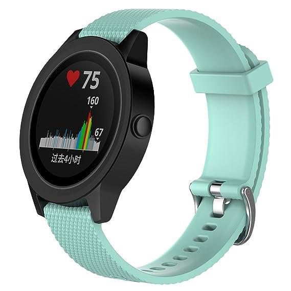 Amazon.com: XIHAMA Watch Strap for Garmin Vivoactive 3 ...