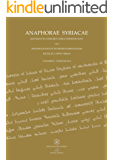 ANAPHORAE SYRIACAE - (EDITAE ET LATINE VERSAE): VOLUMEN I - FASCICULUS 2