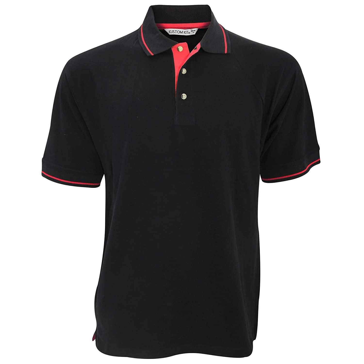 KUSTOM KIT Mens St Mellion Mens Short Sleeve Polo Shirt