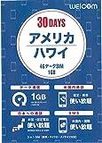 アメリカ・ハワイ専用 プリペイドSIM 4G / LTE / 3G 30日間 データ通信1GB 通話発着信無料 SMS無料 標準 / Micro / Nano SIM対応*事前に対応周波数をご確認ください*