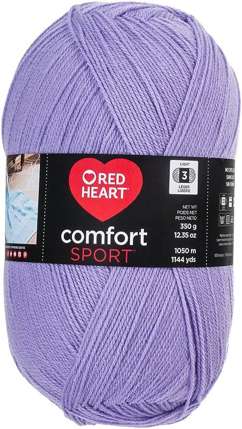 Yarn Red Heart Comfort Sport Yarn Coats White