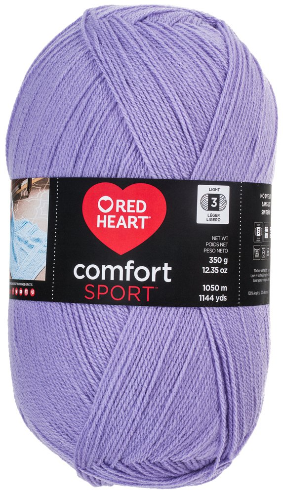RED HEART Comfort Sport Yarn, Light Blue RED HEART Comfort Sport Yarn Coats: Yarn N399-4317