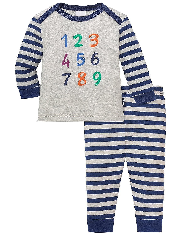 Schiesser Baby - Jungen Zweiteiliger Schlafanzug Baby Anzug 2-teilig Schiesser AG 154333