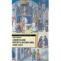 Church Society Eng 1000-1500