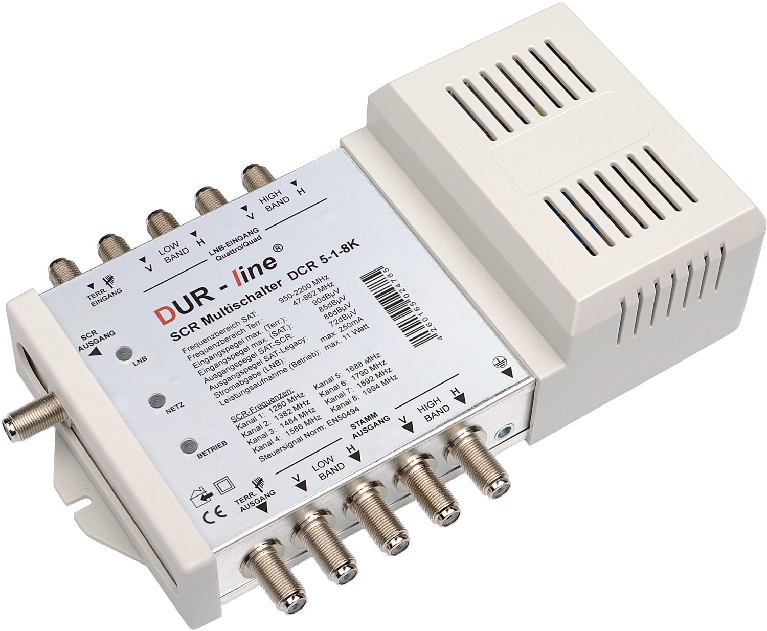 Dur Line Dcr 5 Scr Switch Series Single Solution For C Band Lnb Circuit Diagram Electronics