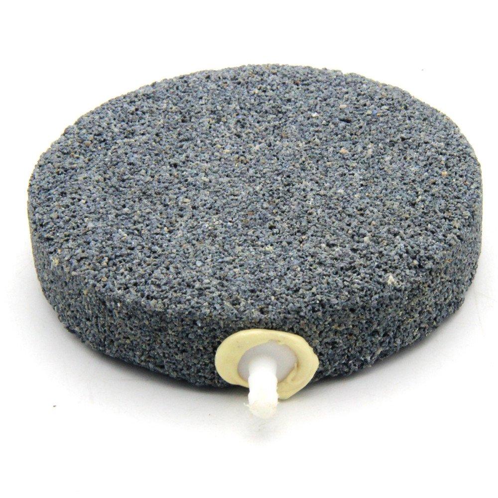Hoyoo 1 pezzi acquario Air pietra sinterizzato Bubble rilascio pietra pietra pietra ossigeno pompa, sinterizzato Air Bubble pietra aeratore acquario stagno pompa idroponica ossigeno piastra 9f0175
