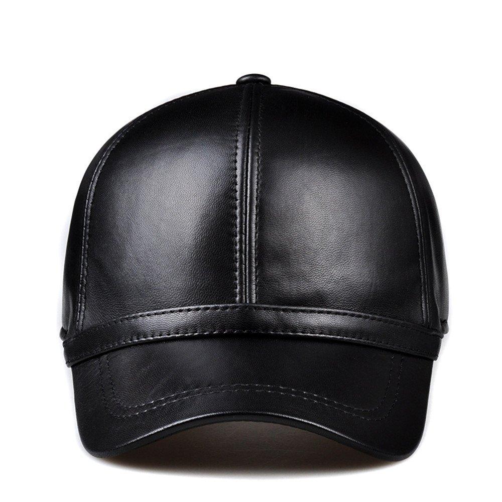 Las mujeres baseball hat badanas casual gorra de cuero y tapa rostro delgado el muelle Fisherman hat...