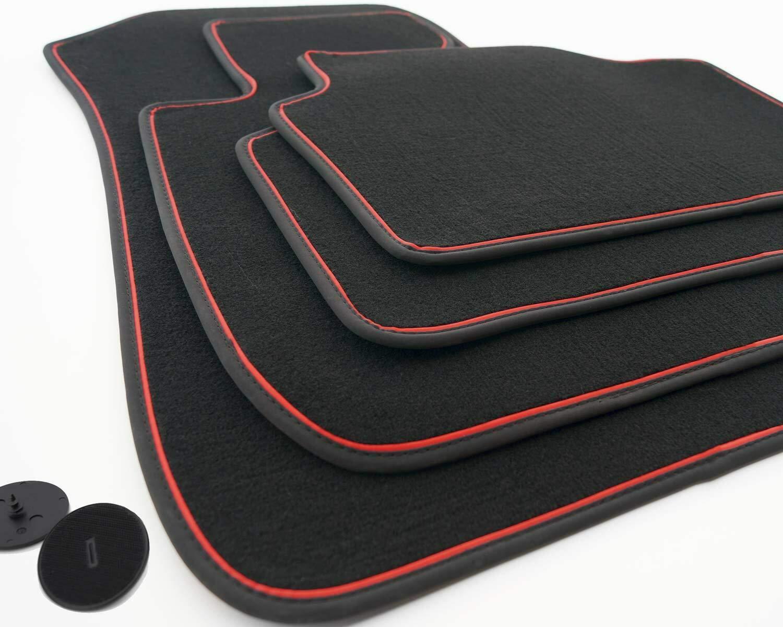 Matten Autoteppiche Premium Fußmatten Set für 3er BMW F30 2012