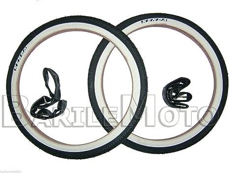 2 x Copertoni 2 x Camere d/'aria ideale  bicicletta GRAZIELLA 20 x 1.75 NERO
