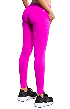 ae97f8ba659 Laisa Sports Women's Compression Thigh Slimming Butt Lift Workout Leggings  Hip Push Up Stretch Yoga Pants