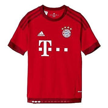 Adidas FCB H JSY Y - Camiseta para Hombre, Color Blanco/Rojo / Negro: Amazon.es: Deportes y aire libre