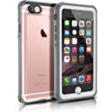 iPhone 6S Waterproof Case, Easylife® IP68 Certified Extreme Durable Waterproof Shockproof Full Sealed Perfectly Fit iPhone 6S/6 (White&Crystal)