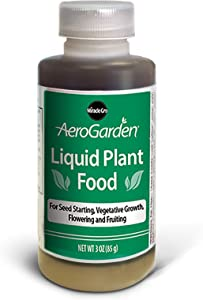 AeroGarden Liquid Nutrients (3 oz)