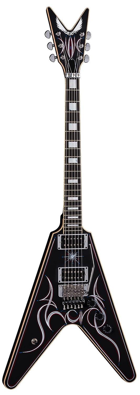 Dean Estados Unidos Tracii Guns firma V Floyd - Guitarra eléctrica, color negro: Amazon.es: Instrumentos musicales
