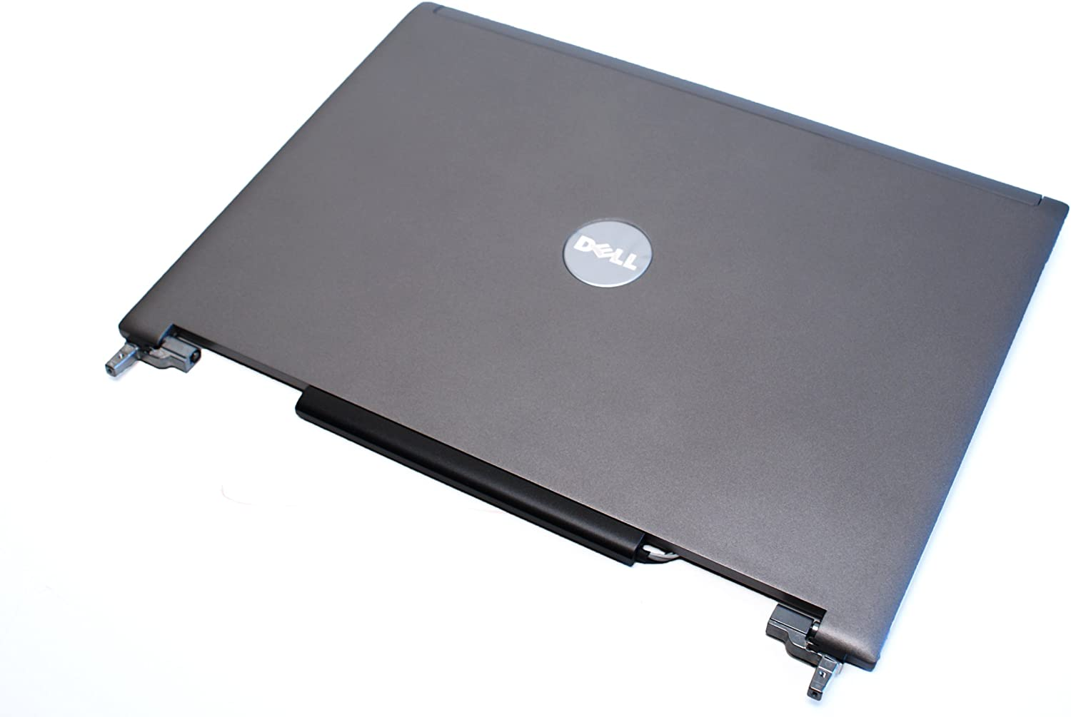 """DELL Latitude D820 D830 M65 15.4"""" LCD Back Cover Top Lid w/Hinges & Latch GM977 YD874"""