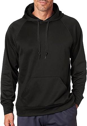 Power Blue XXX Large Augusta Sports Wicking Fleece Hooded Sweatshirt