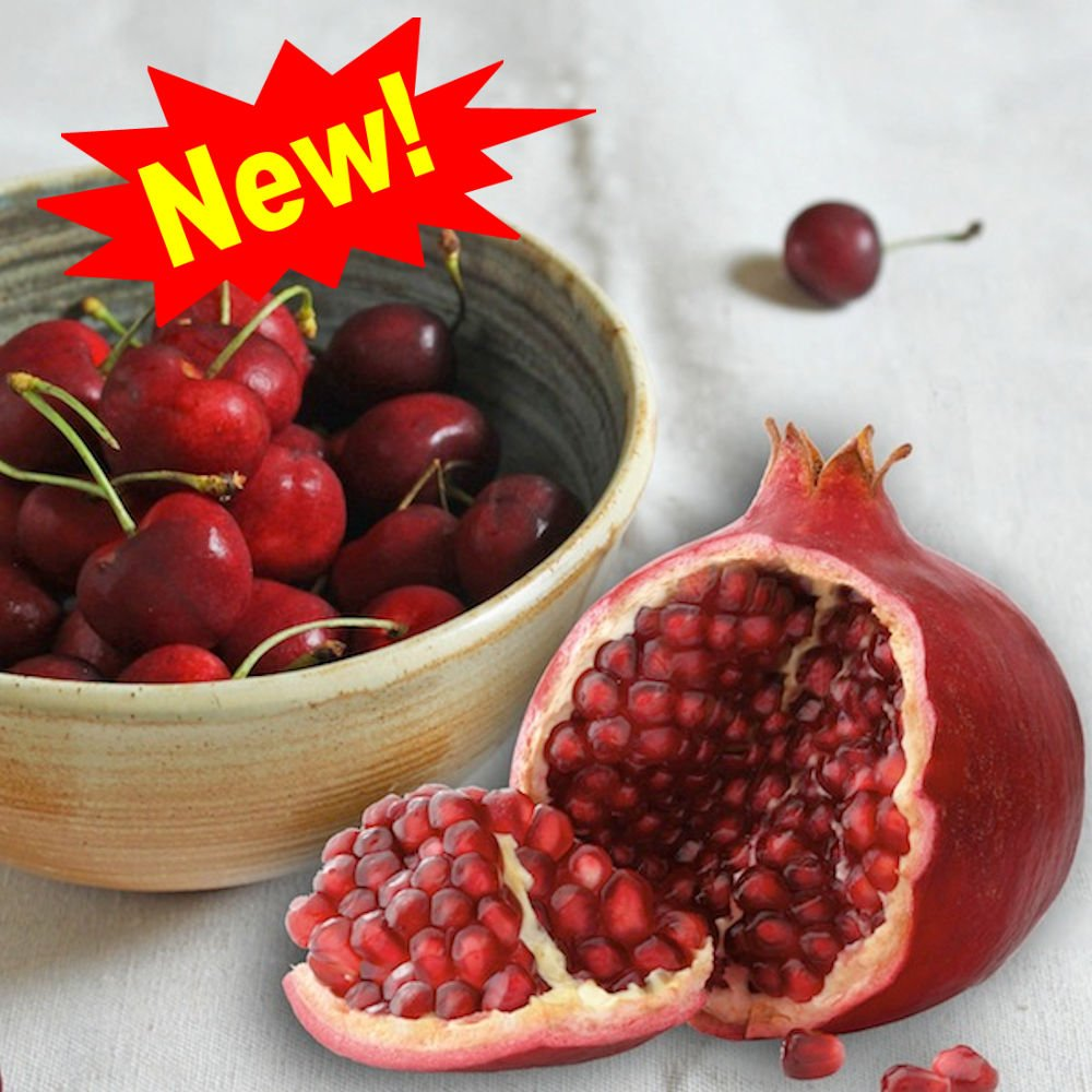 CHERRY POMEGRANATE FRAGRANCE OIL - 16 OZ/1 LB - FOR CANDLE & SOAP MAKING BY VIRGINIA CANDLE SUPPLY - FREE S&H IN USA