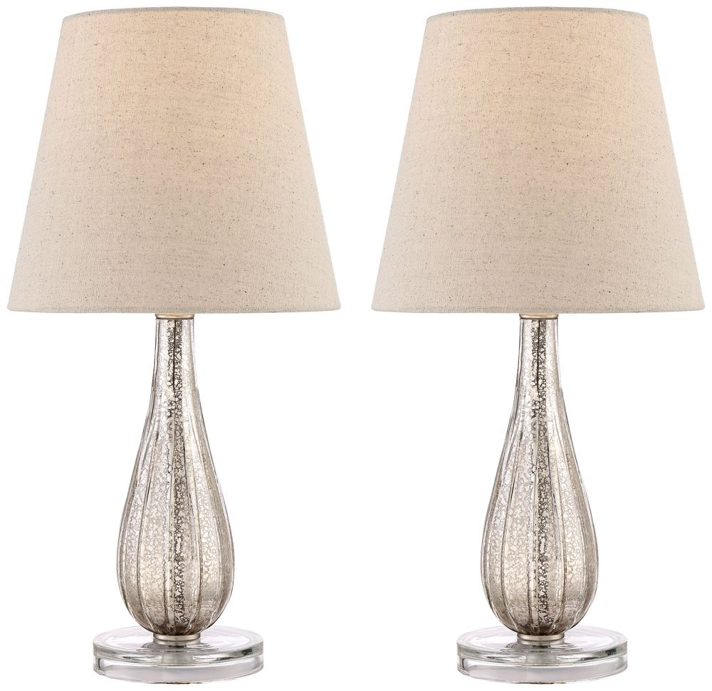 Watson Mercury Glass Table Lamp Set of 2 - - Amazon.com