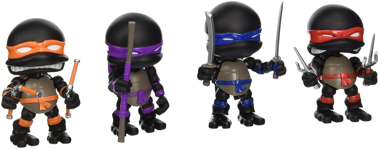 Tortugas Ninja Pack de 4 Minifiguras Stealth 8 cm: Amazon.es ...