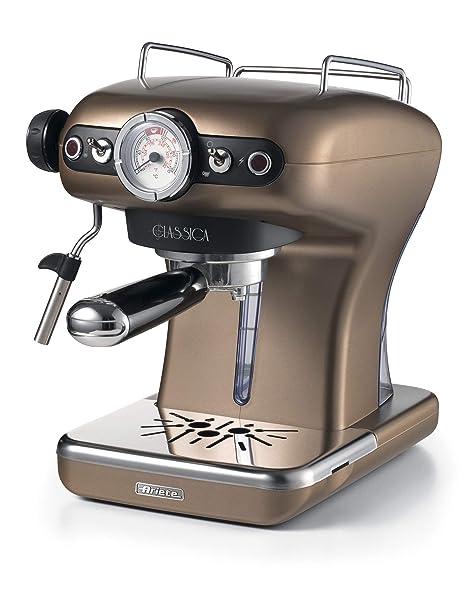 Ariete 1389 Clásica de café Espresso, 850 W, bronozo: Amazon.es: Hogar
