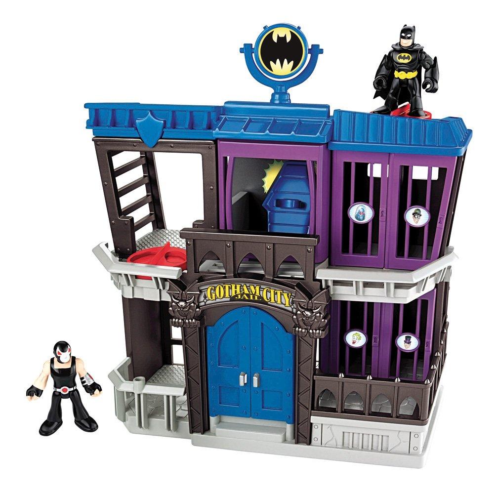 Mattel Imaginext X6341 - Cárcel De Gotham