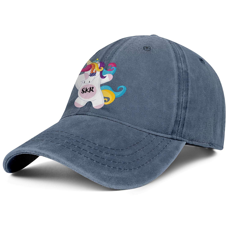 Rock Unicorn Rainbow Unisex Baseball Cap Quick Dry Sport Baseball Caps Adjustable Trucker Caps Dad-Hat