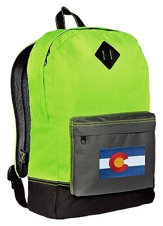 Amazon com | Colorado Backpack CLASSIC STYLE Colorado Flag Backpacks