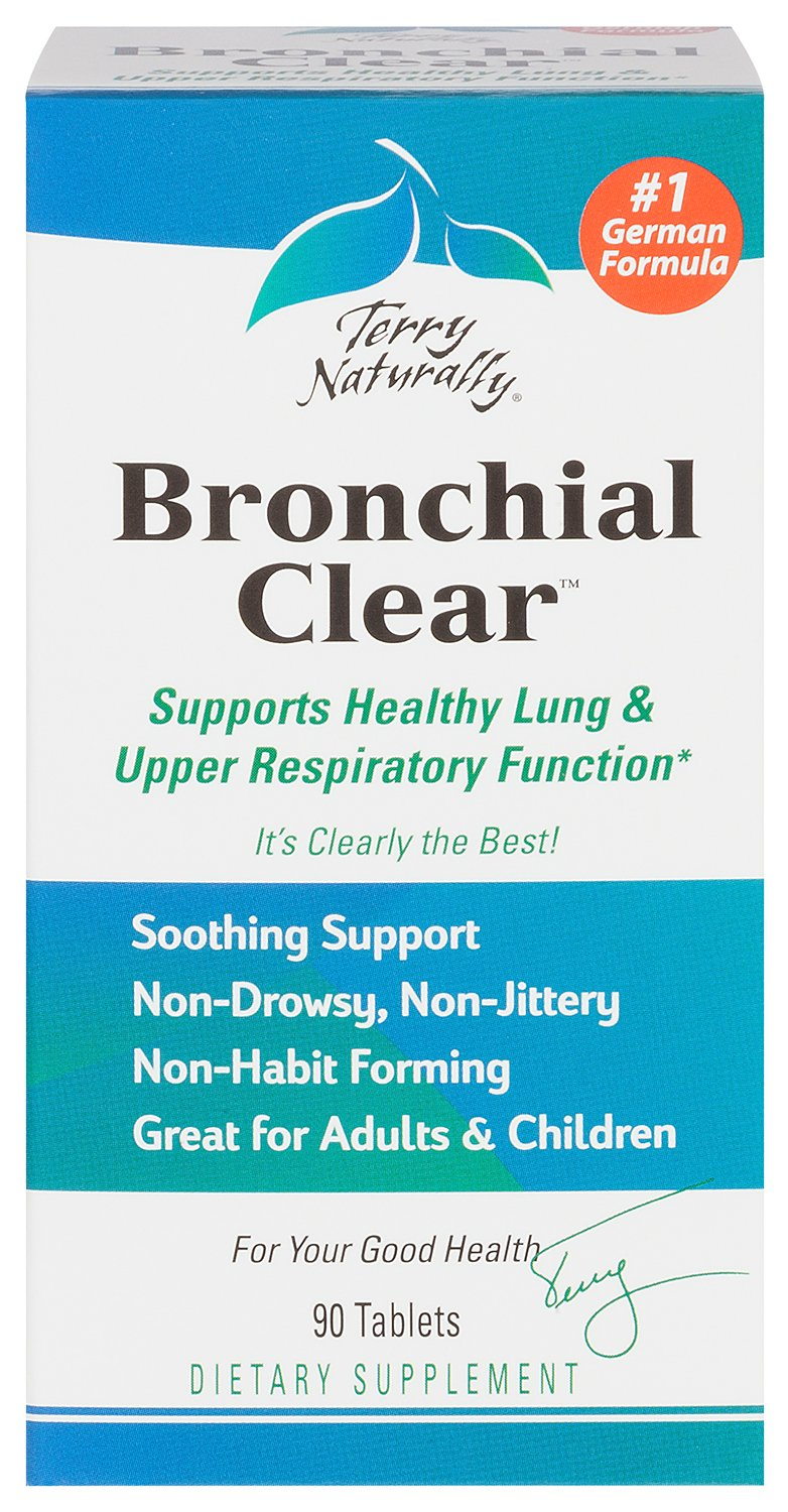 Terry Naturally / EuroPharma Bronchial Clear - 90 Tablets