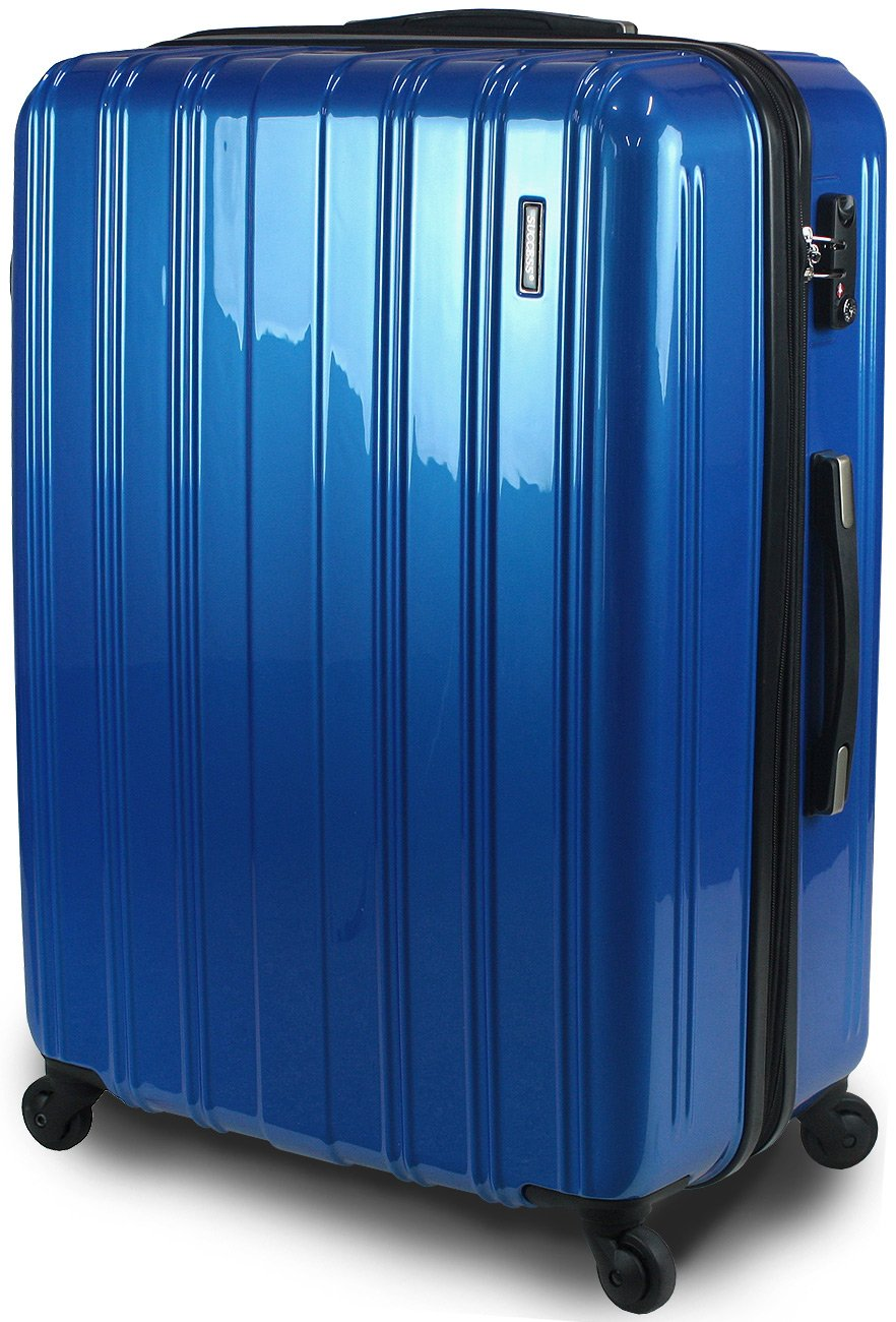 【SUCCESS サクセス】 スーツケース 中型 TSAロック キャリーバッグ 超軽量 レグノライト2016 Mサイズ ミラー加工 B071YZD7PY 中型 66㎝ ブルー ブルー 中型 66㎝