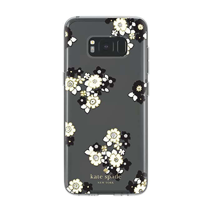 kate spade new york Protective Hardshell Case for Samsung Galaxy S8 -  Floral Burst Clear/