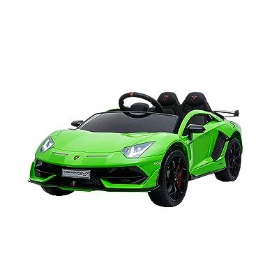 Best Ride On Cars Lamborghini SVJ: Toys & Games