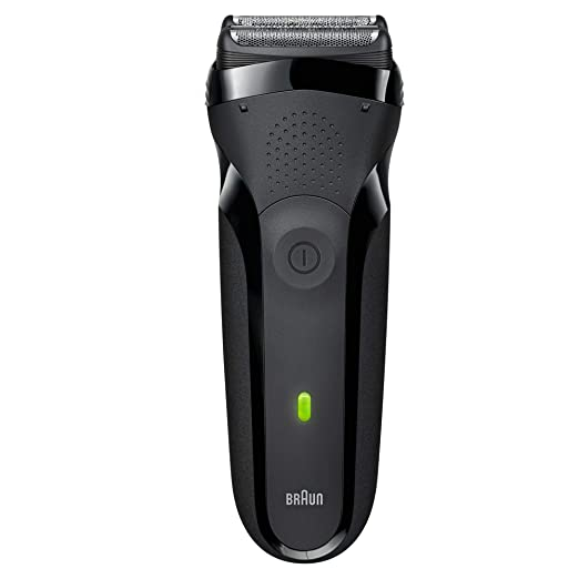 Braun Series 3 300s Men's Electric Shaver/Rechargeable Electric Razor, Black