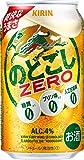 【2018年リニューアル】[糖質ゼロ・プリン体ゼロ・人工甘味料ゼロ]キリン のどごし Zero [ リキュール 350ml×24本 ]