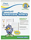 Mead lowercase letters Dry Erase Book, 10-5/8 x 8-Inches, 13 Pages (54212)