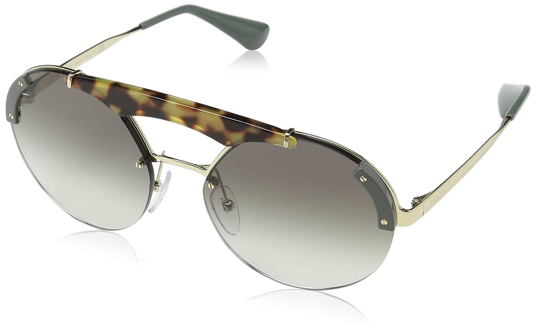 Prada 0PR52US SZ60A7 37 Gafas de Sol, Verde (Pale Gold ...