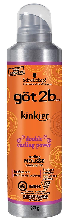 got2b Kinkier Gloss 'N Define Curling Mousse, 227 Grams (1987958) Henkel Canada U-HC-2047