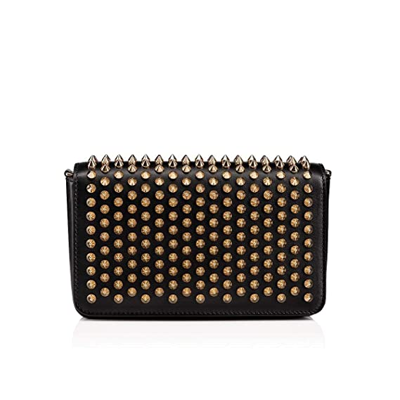 280474d263e Christian Louboutin Women's 1195136Cm6s Black Leather Shoulder Bag ...