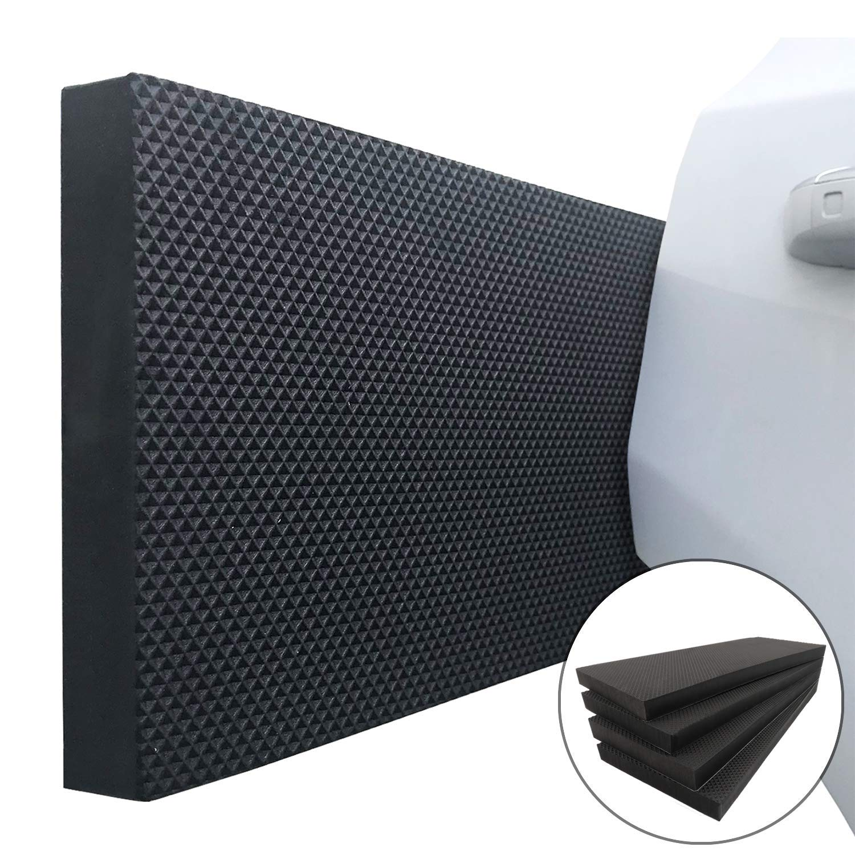 Ampulla Garage Smith GWP02S Garage Wall Protector Car Door Protectors, Designed in Germany (4-Pack)