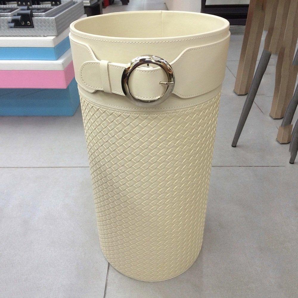 ZXQZ 傘スタンド/傘収納桶/傘収納棚/家庭用傘装飾フレーム/25 * 25 * 50CM 雨の傘の収納ラック (色 : 白) B07CWH9F8M 白 白