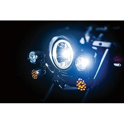 Kuryakyn 5001 Motorcycle Lighting Accessory: Constellation Driving Light Bar with Turn Signal/Blinker Lights, Chrome: Automotive