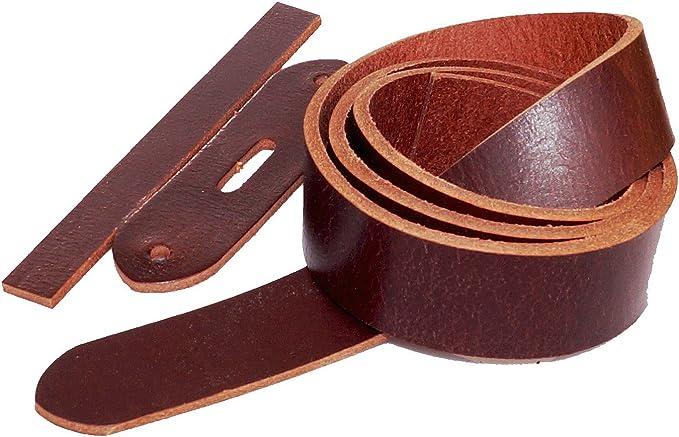 Buffalo Leather Belt Blank Florida with KAPPLoopBelt Blank