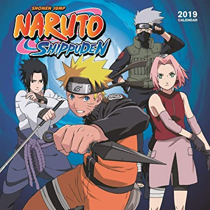 Naruto Calendar 2019 Amazon.: 2019 Naruto Wall Calendar, Anime by Calendar Ink